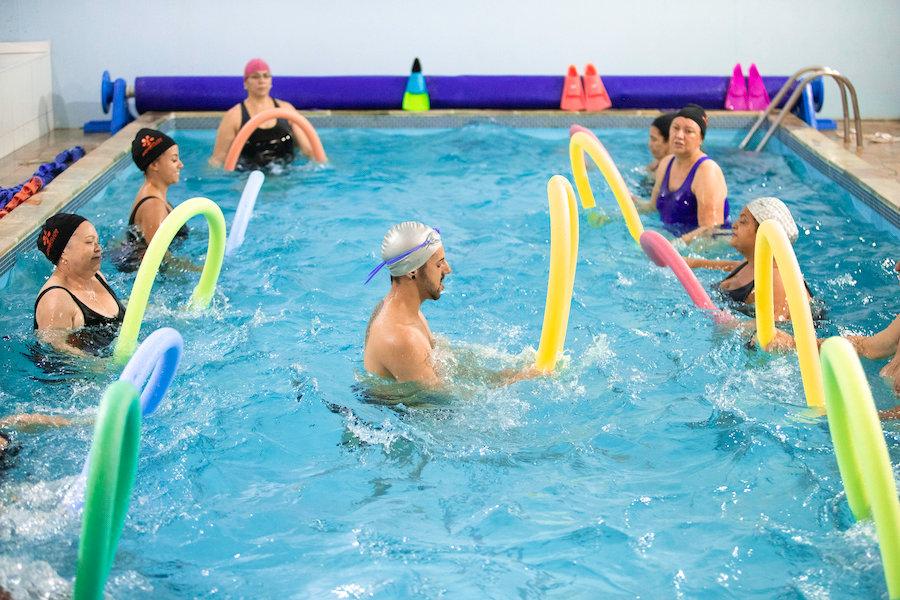 hidroginastica, Academia Aquatitude 2020