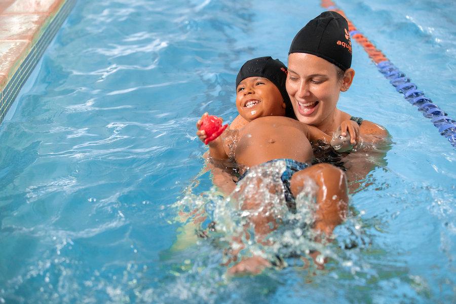 natacao infantil, Academia Aquatitude 20