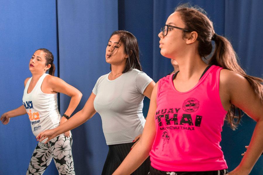 aula de danca, zumba, ritmos brasileiros