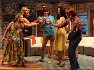Come join the gals, me,  and a martini in the Dixie Swim Club at Old Log Theatre