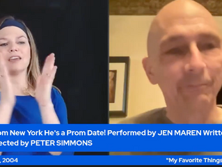 LIVE-STREAMING: LIVE FROM NEW YORK, HE'S A PROM DATE!
