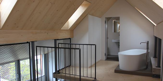 Konzept: A & R  Ausführung, Bauleitung: Husner AG Holzbau