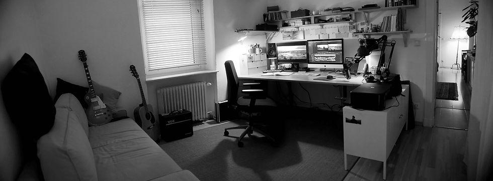 Editing Room Pano 3 - BW.jpg