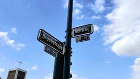 Corner of Hellweg and Bruchstrasse