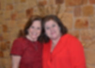 Mayou Schroeder and Kathy Danielson paus