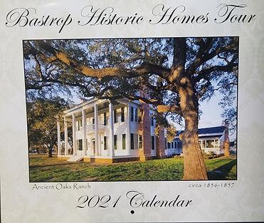 Bastrop Historic Home Tour Calendar 2021