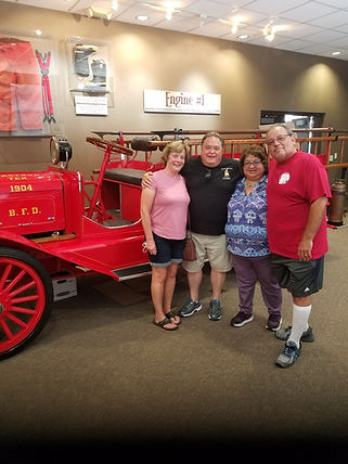 Retired Pflugerville fireman Ken Plante