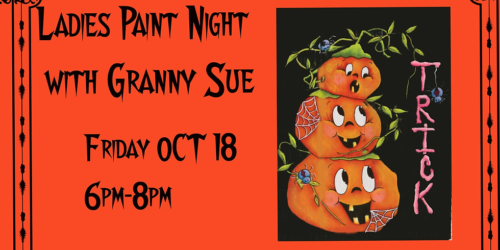 Paint Night with Granny Sue