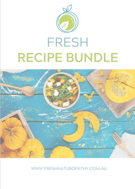 Fresh Recipe ebook BUNDLE