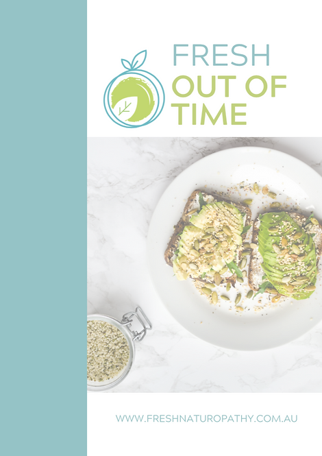Fresh Out Of Time Recipe ebook