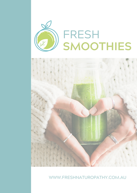 Fresh Smoothie Recipe ebook