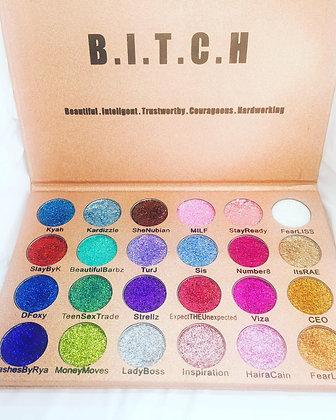 24 Shades of Bitch Glitter Eyeshadow Palette