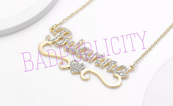 Heart Of Bling Name Chain