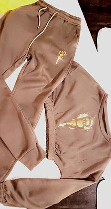 Confident and Cozy Logo Crop suit *2 piece