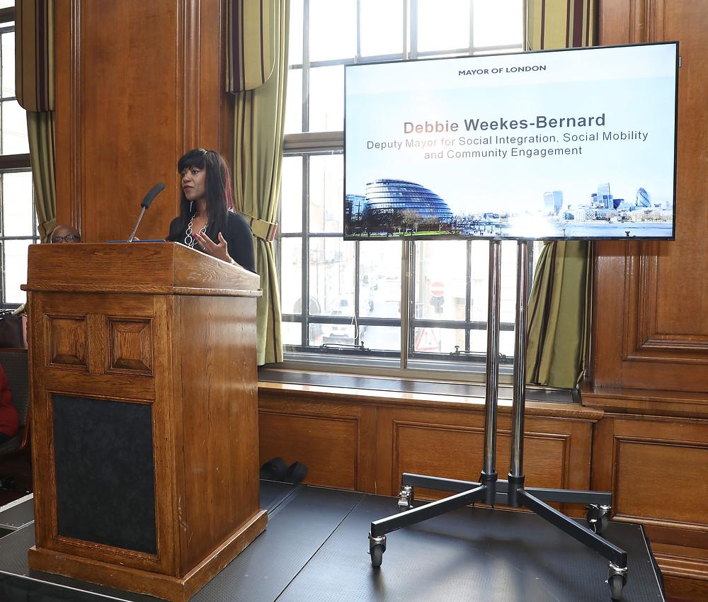 Dr Debbie Weekes-Bernard - Deputy Mayor, GLA