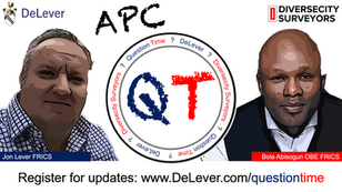 DeLever and DCS collaborate with monthly 'Question Time' for Surveyors