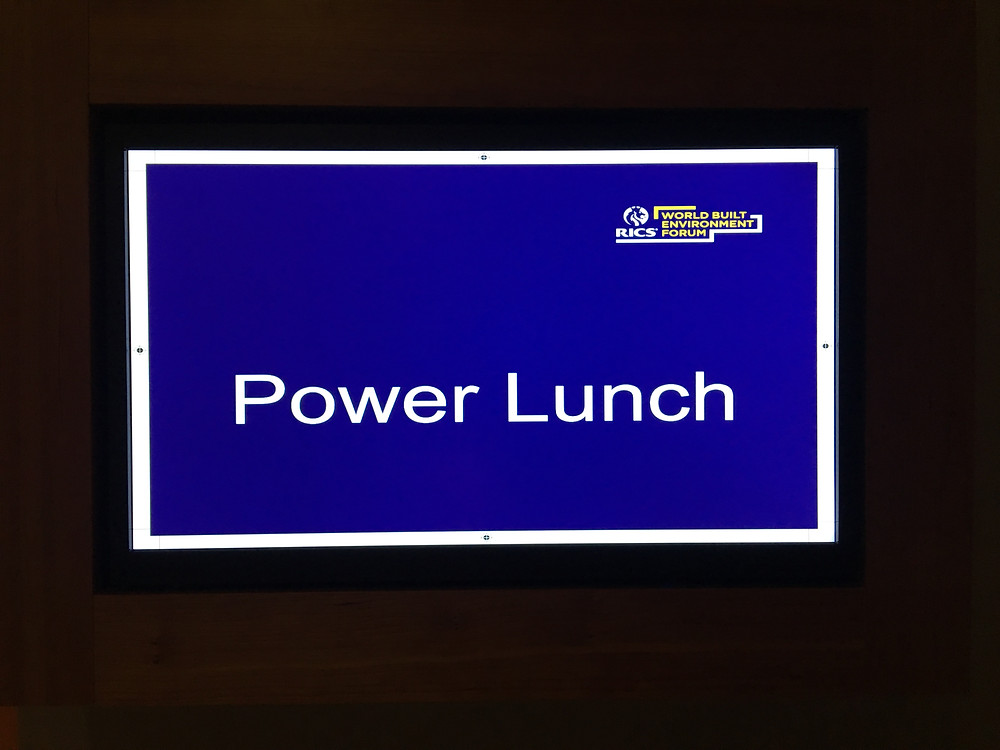 The 'Power Lunch'................