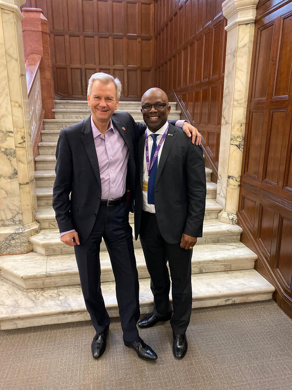 Alan Muse, RICS and Bola Abisogun OBE, DCS