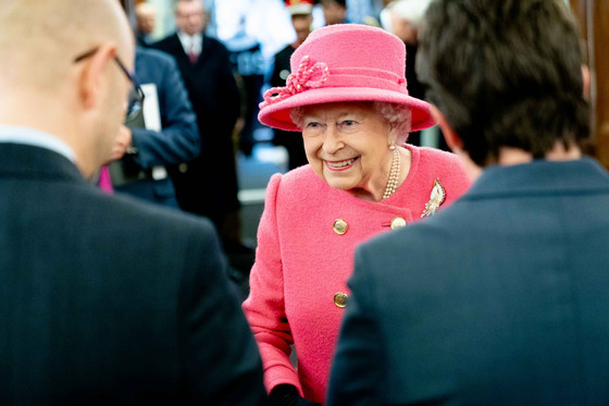 Her Majesty Queen Elizabeth II visits Parliament Square during #RICS150