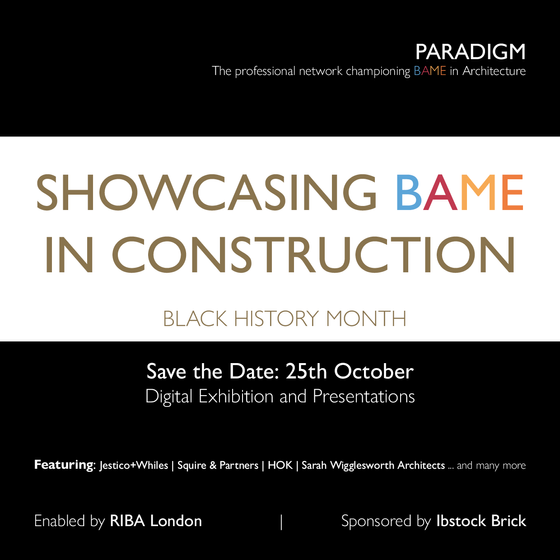 DCS support RIBA London & Paradigm Network during #BHM2019
