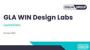 Mayor of London launches Cohort 2 for WIN Design Labs initiative!!
