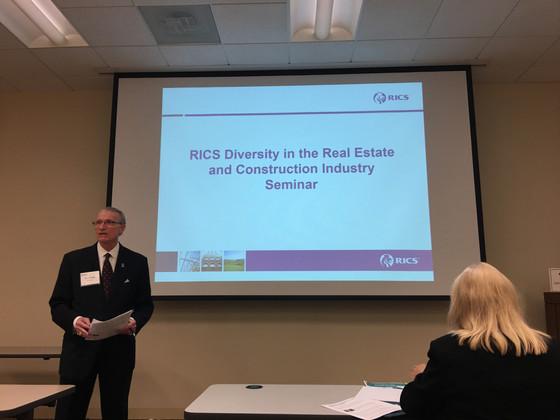 RICS Americas hosts seminar on Diversity & Inclusion in Atlanta, GA