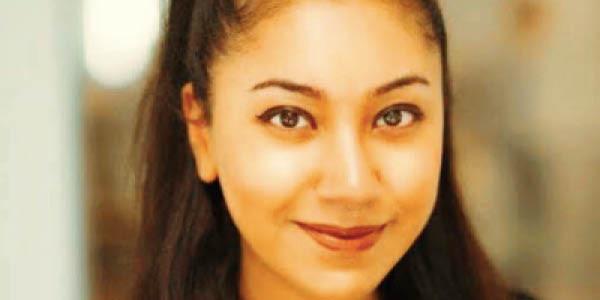 Ms Sophia Nesro - wins Rising Star Award