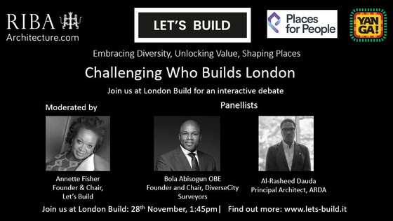 Let's Build attend DCN launch at  London Build Expo 2019