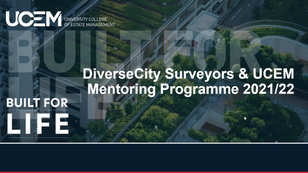 DCS partner with UCEM  on mentoring initiative, amidst New Rules of Conduct.