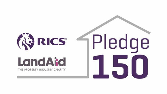 DiverseCity Surveyors support LandAid's #Pledge150 campaign