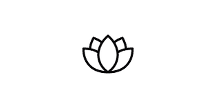 lotus flower icon yoga