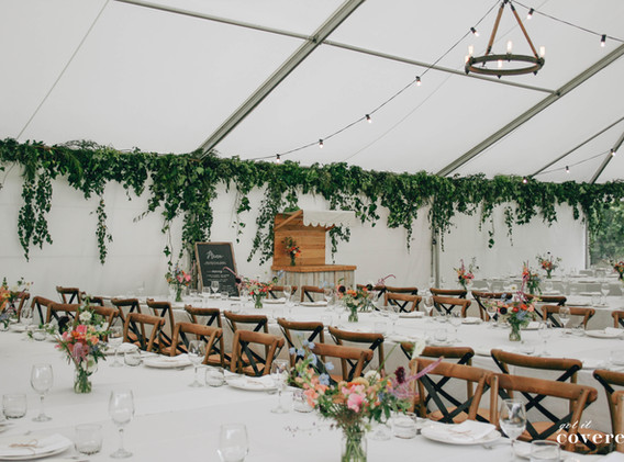 Marquee Wedding Got It Covered