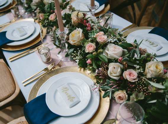 Floral tablescape Got It Covered