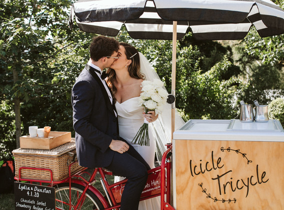GK Events Hire Icicle Tricycle Wedding