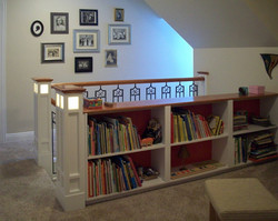 Staircase with Bookcase