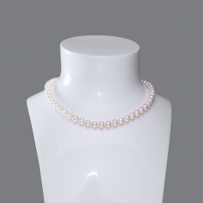 7-8mm Silver Necklace