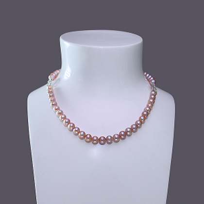 7-8 Simple Pearls Necklace