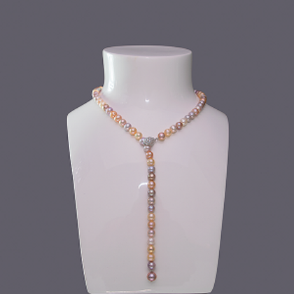Necklace 7-8mm Pearls Long String