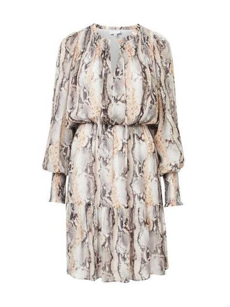 WITCHERY Shirred Yoke Mini Dress