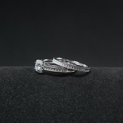 Silver Ring 925 Rhodium Plating