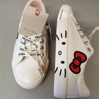 Zara girl hello kitty trainers