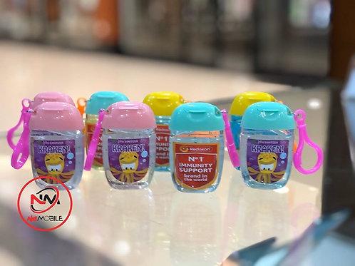 Sanitizer bottles