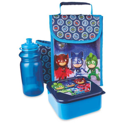 Girls and boys pack lunch set