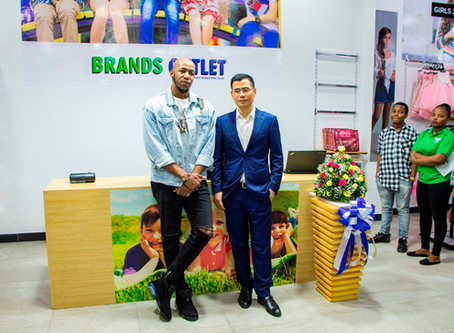 Brands Outlet Store Opening event