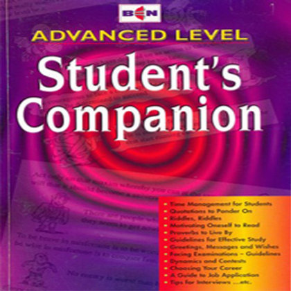 Advanced Level Students Companion