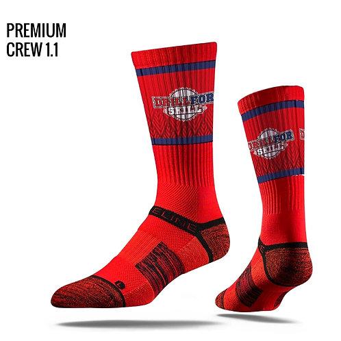 DFS Red Elite Sock