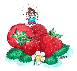 Strawberries love