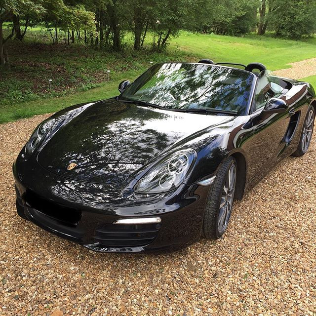 mobile valeting hertfordshire porsche