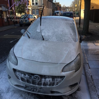 Vauxhall Corsa Limited Edition Snow Foam