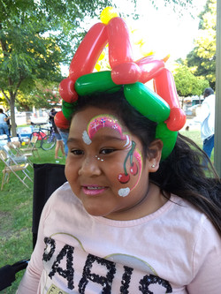 Cherries and Balloon Hat
